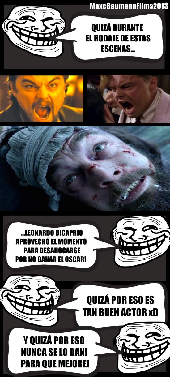 Trollface - La razón de la rabia de DiCaprio en sus películas