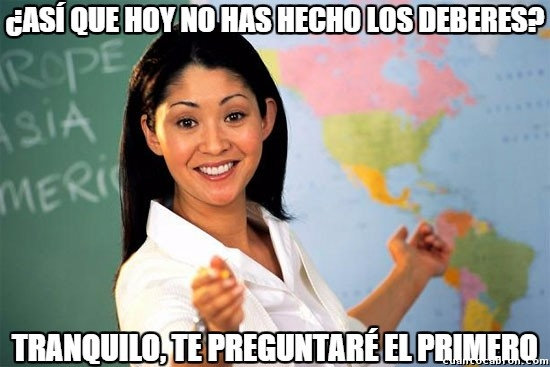 Profesora_cabrona - Maldita profesora, siempre igual...