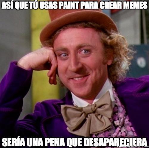 Wonka - Echaremos de menos a Paint :(