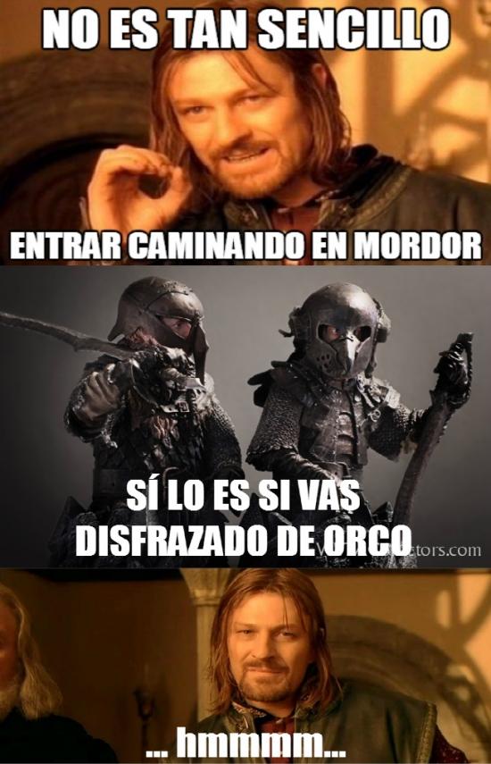 Boromir - Boromir no había pensado en ello