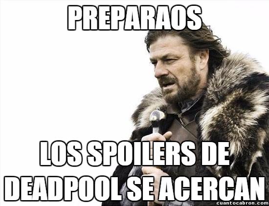 Deadpool,película,Spoilers
