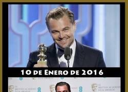 Enlace a Leonardo DiCaprio cada vez más cerca del Oscar