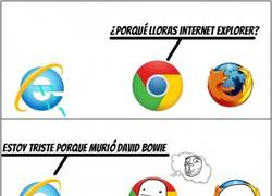 Enlace a Internet Explorer y sus problemas de lentitud