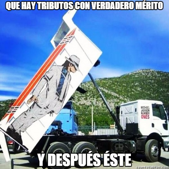 Meme_otros - Camionero a lo Smooth Criminal