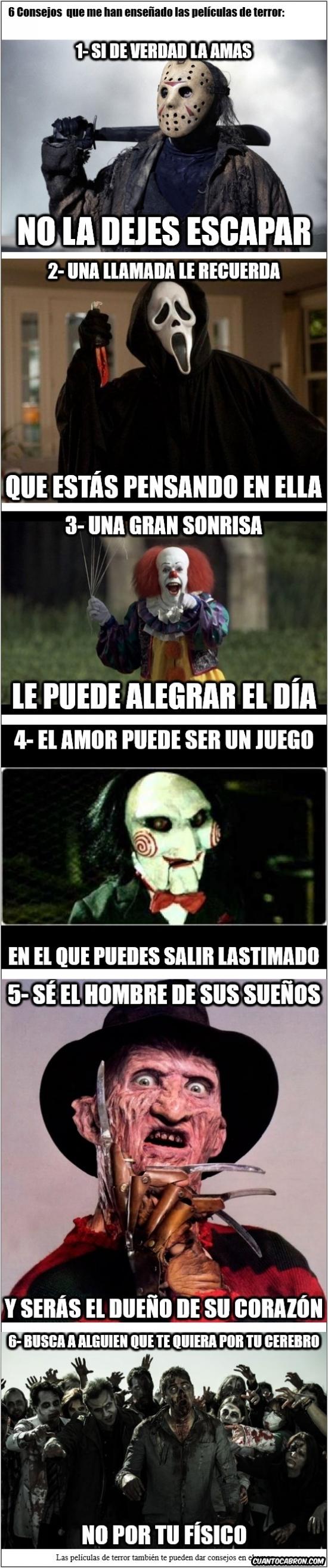 Meme_otros - Las películas de terror también te pueden dar consejos en el amor