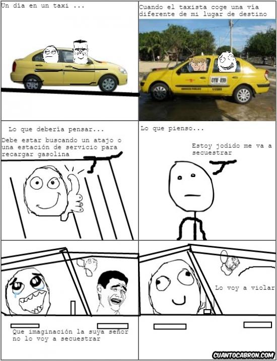 Otros - Cuidado con los taxistas