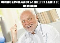 Enlace a Ese terrible momento en el FIFA