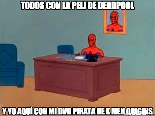 Spiderman60s - Maldita pobreza :(