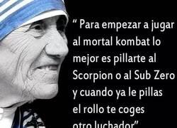 Enlace a La Madre Teresa de Calcuta lo tenía claro