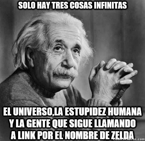 Tres_cosas_infinitas - ¿Cuándo se enterarán que no es Zelda?