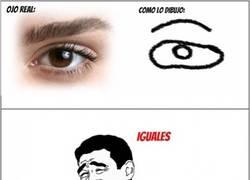 Enlace a Todos dibujamos igual los ojos...
