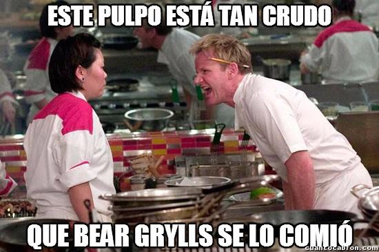 Chef_ramsay - Bear Grylls haciendo de las suyas