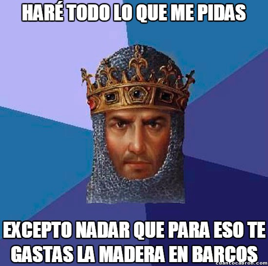 Age_of_empires - Los soldados de Age of Empires son unos vagos
