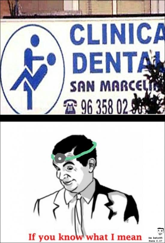 Otros - Esta clínica dental es muy sospechosa...