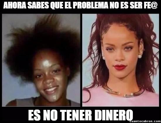 antes,arreglo,Barbados,bella,cambio,después,dinero,hermosa,pobreza,Rihanna,¿y tú?