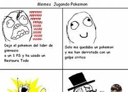 Enlace a Estos son los Memes jugando a Pokémon