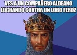 Enlace a La amistad en el trabajo, algo prohibido en Age of Empires