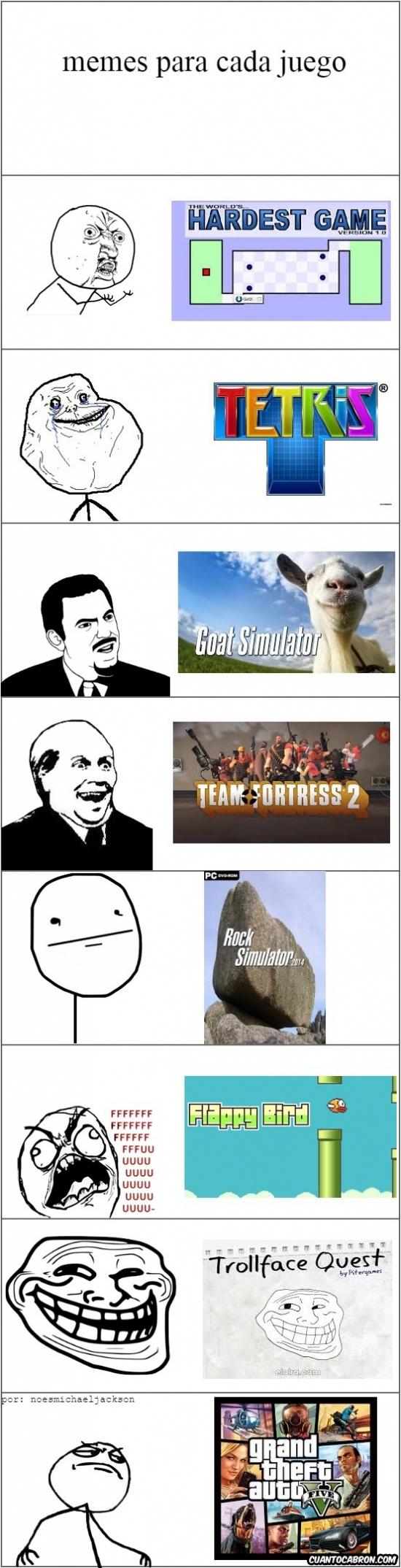 Friki - Cada meme tiene su juego favorito