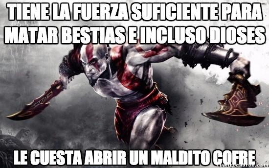 Meme_otros - La lógica de God of War