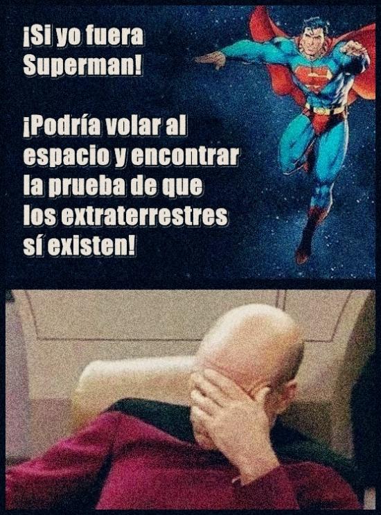 Otros - Claro, porque Superman sería de aquí...