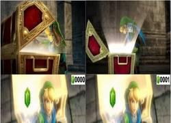Enlace a Suele pasar en el Zelda