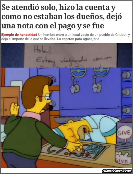 Otros - Ned Flanders existe en la vida real