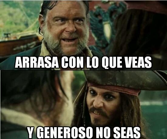 Barra libre,fiesta,piratas,serbesa