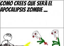 Enlace a Expectativa vs Realidad de un apocalipsis zombie
