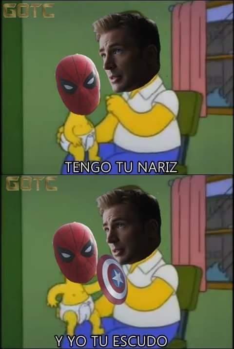 Meme_otros - Con Spiderman no se juega