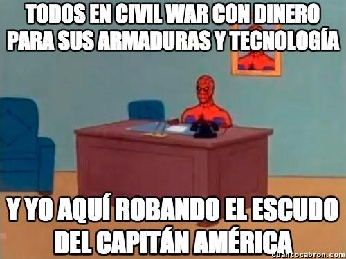 Spiderman60s - Cuando eres pobre, pero por fin te aceptan