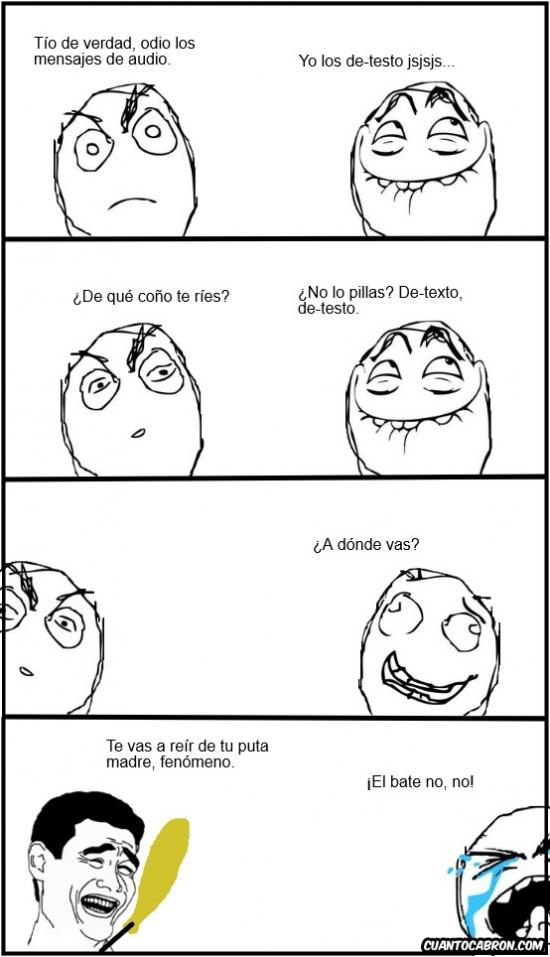 Yao - Un chiste malo que puede acabar en paliza