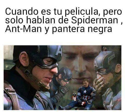 Meme_otros - El drama de Capitán América