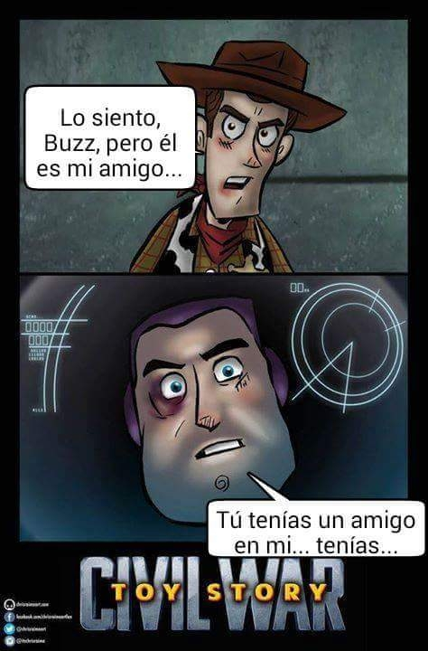 Otros - Civil War: Toy Story