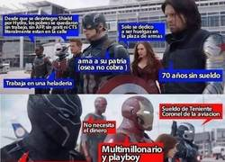 Enlace a Captain America: Civil War, vista desde otra perspectiva