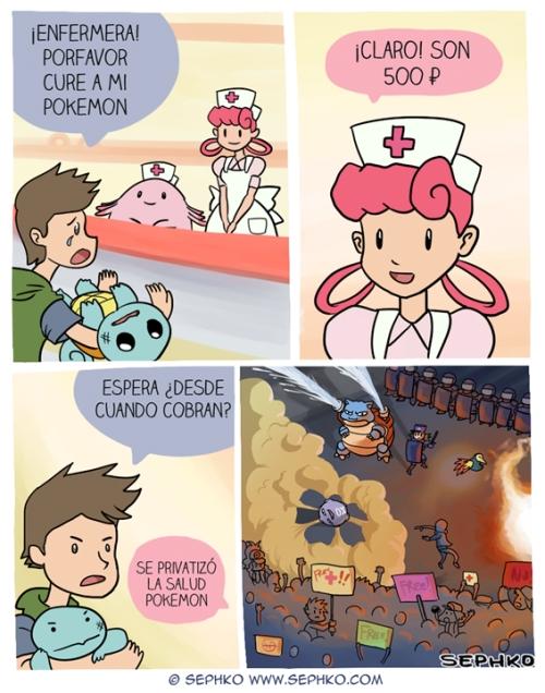 Otros - La sanidad en el mundo Pokémon está pasando por malos momentos
