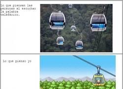 Enlace a Dos formas de ver un teleférico
