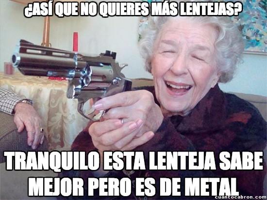 Abuela_amenazas - Nunca rechaces la comida de tu abuela