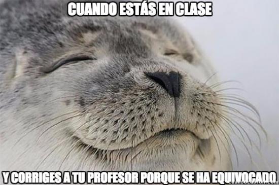 Satisfied_seal - Ese placer máximo en clase