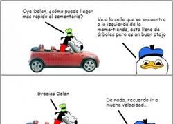 Enlace a Nunca le pidas indicaciones a Dolan...