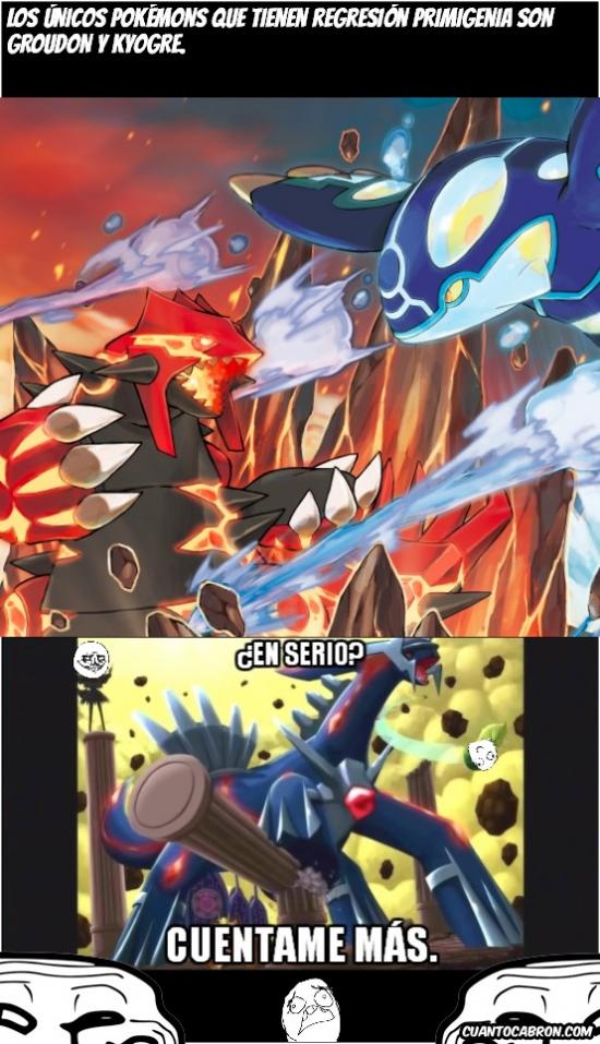 Trollface - Él fue el primer Pokémon primigenio