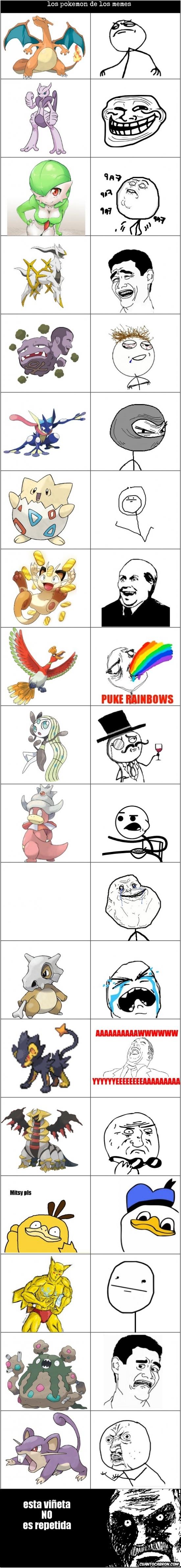 Mix - Los Pokémon de los memes