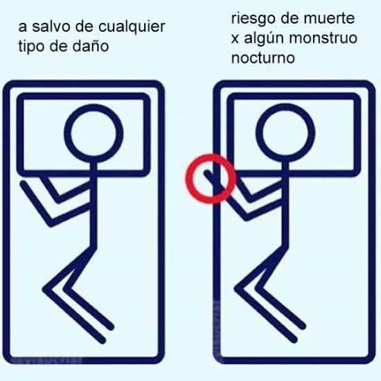 Meme_all_the_things - Diferentes formas de dormir