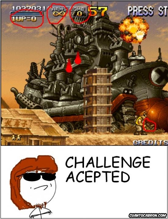Challenge_accepted - Es el momento de hacer historia