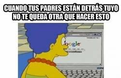 Enlace a Hijo, ¿por qué llevas todo el día viendo Google?