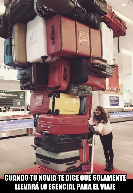 Meme_otros - Cuando tienes novia y vas de viaje
