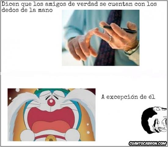 Yao - Pobre Doraemon, está marginado...
