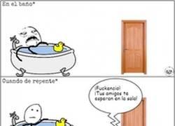 Enlace a Ninjas en la bañera
