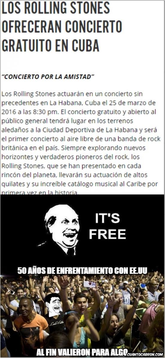 Its_free - La guerra al fin da sus frutos