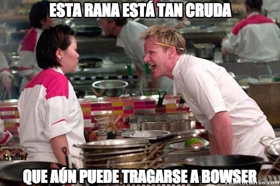 Chef_ramsay - No es tan fácil cocinar a Yoshi...
