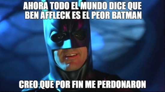 batman,batman v superman,ben affleck,el peor batman,george clooney